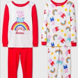 Peppa Pig Pajamas (4 piece set)